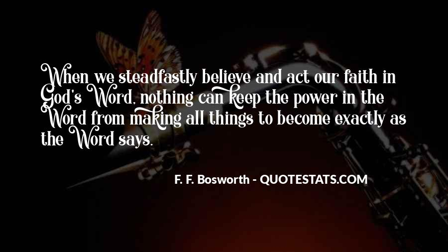 Quotes About God's Power #193917
