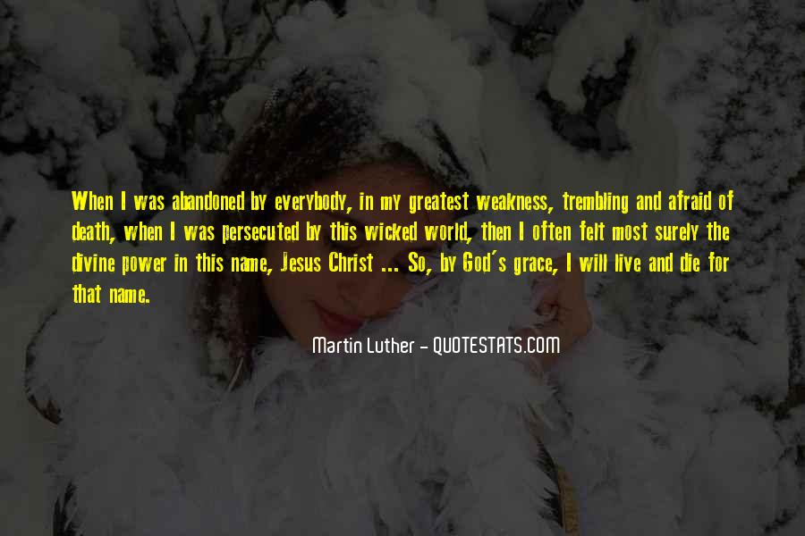 Quotes About God's Power #198358