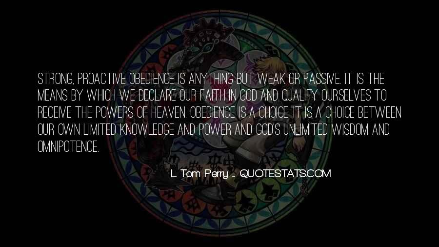 Quotes About God's Power #213083
