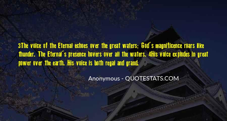 Quotes About God's Power #214046