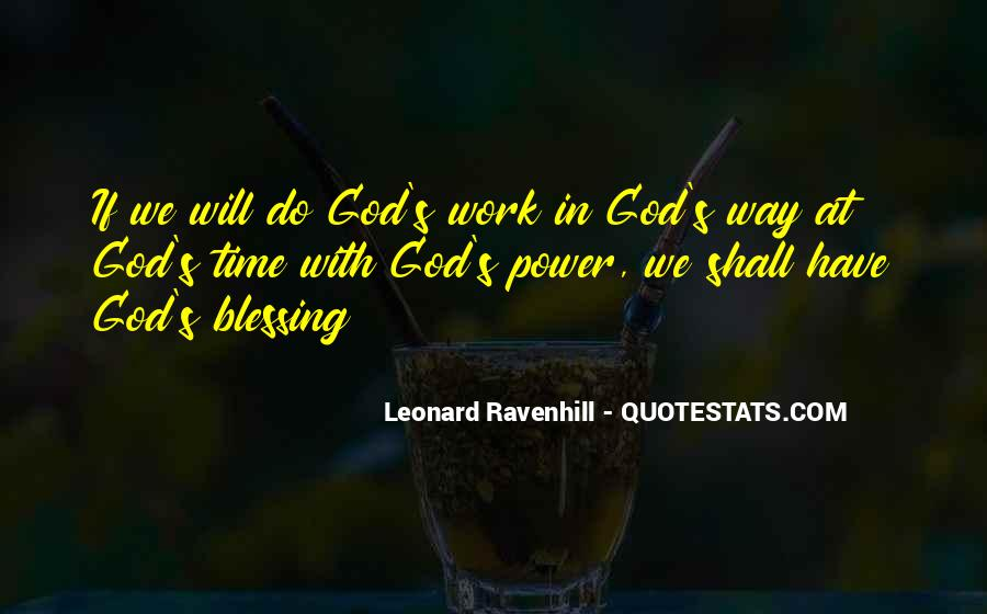 Quotes About God's Power #232958