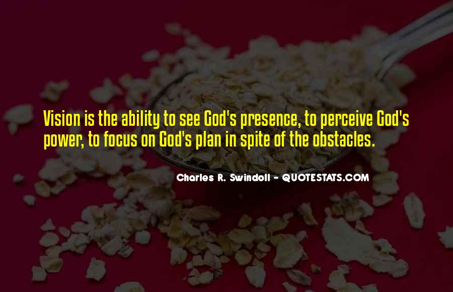 Quotes About God's Power #235758