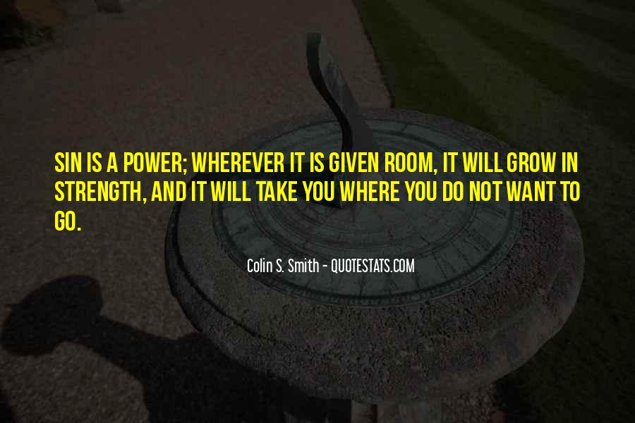 Quotes About God's Power #238878