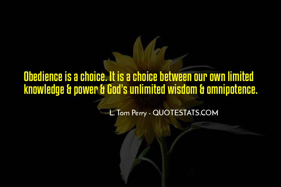 Quotes About God's Power #253962