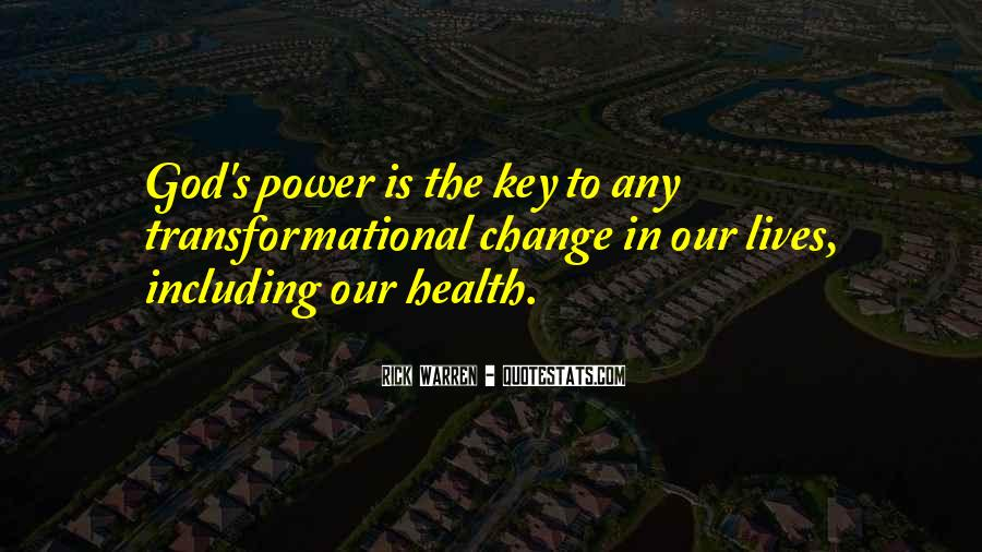 Quotes About God's Power #256470