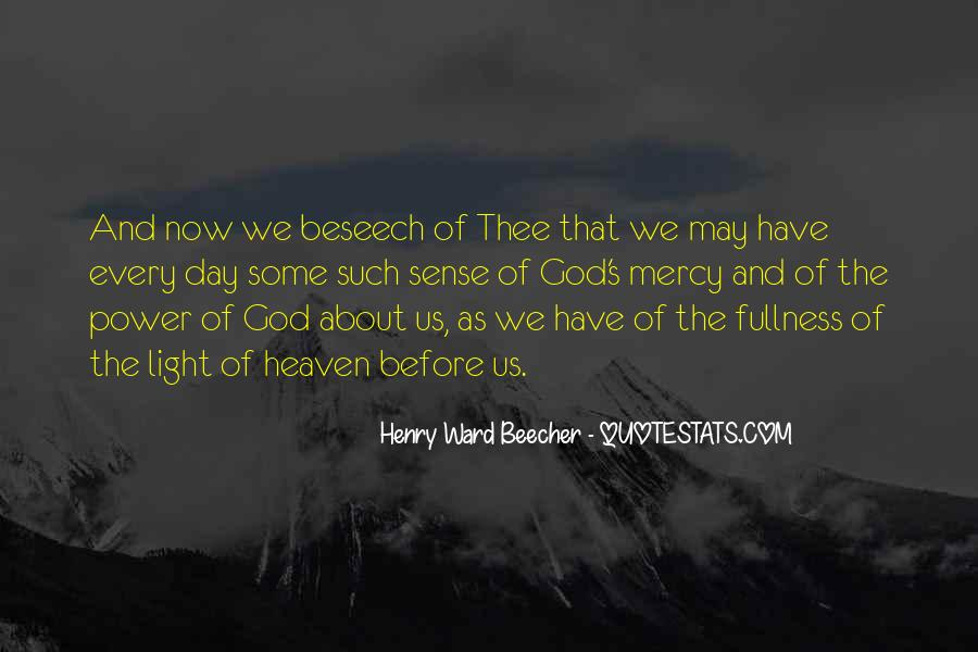 Quotes About God's Power #267646