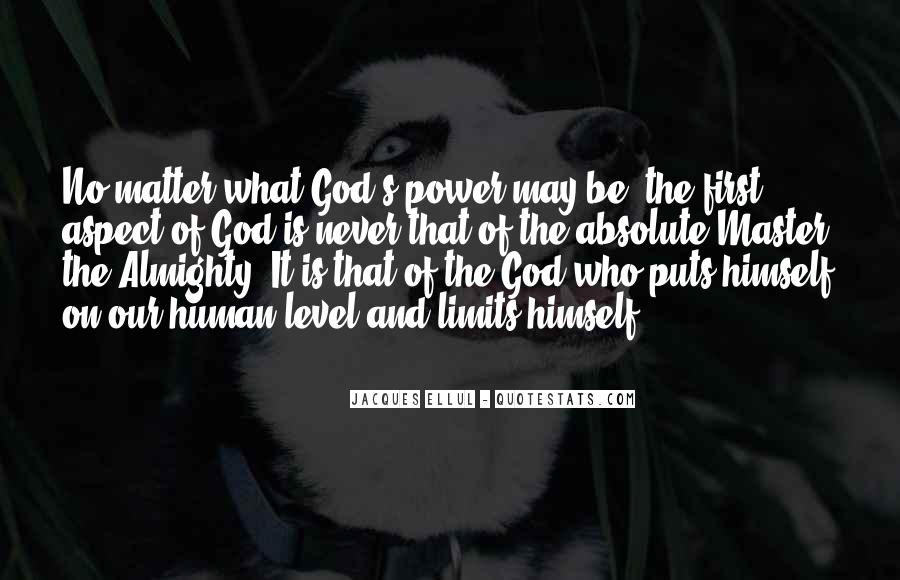 Quotes About God's Power #27703