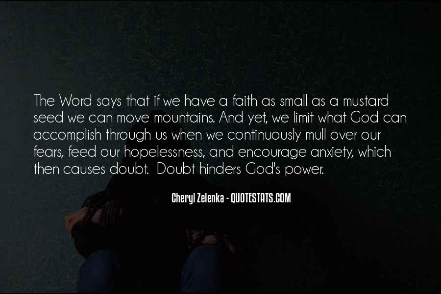 Quotes About God's Power #27743