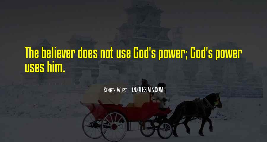 Quotes About God's Power #286138