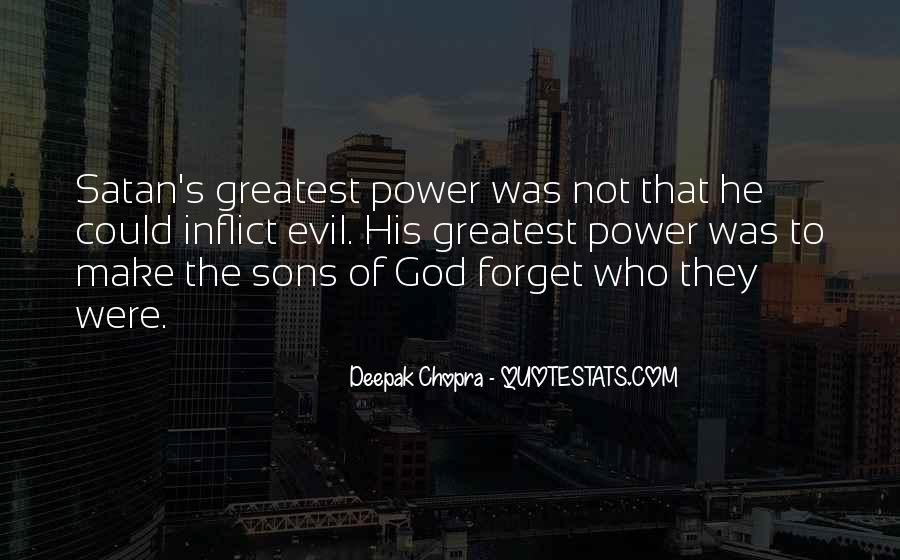 Quotes About God's Power #297831