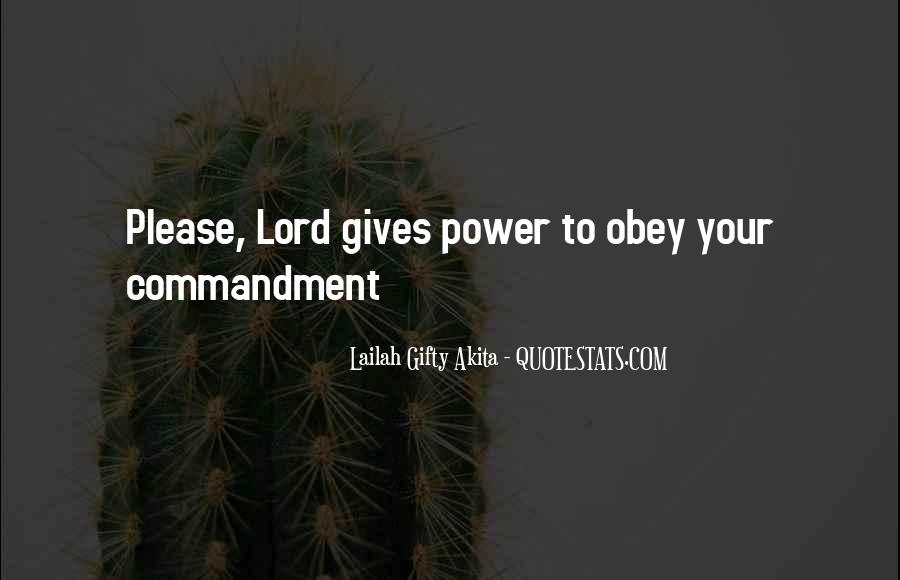 Quotes About God's Power #310845