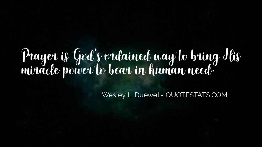 Quotes About God's Power #318579