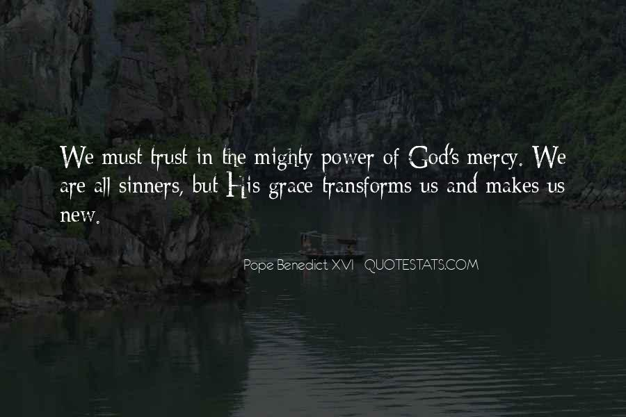 Quotes About God's Power #37319