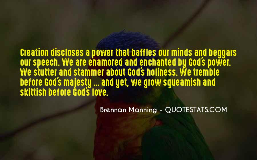 Quotes About God's Power #41902