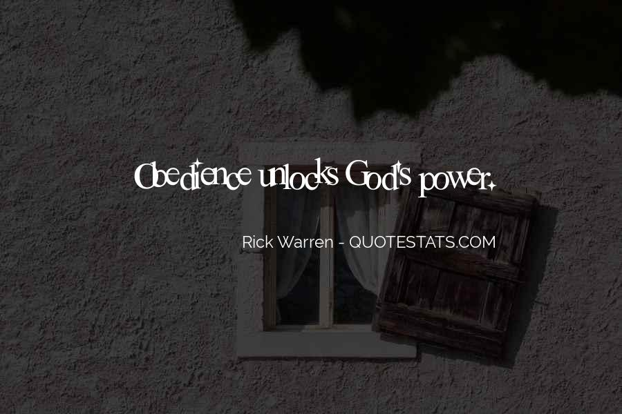 Quotes About God's Power #7467