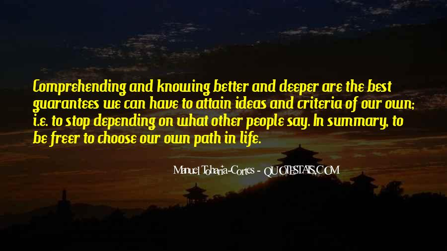 Quotes About Summary #1051001