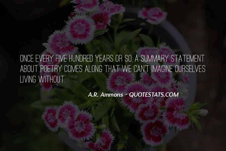 Quotes About Summary #1301558