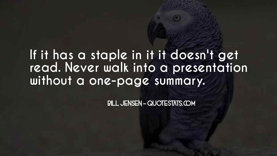 Quotes About Summary #1394140