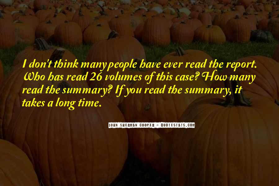 Quotes About Summary #210493