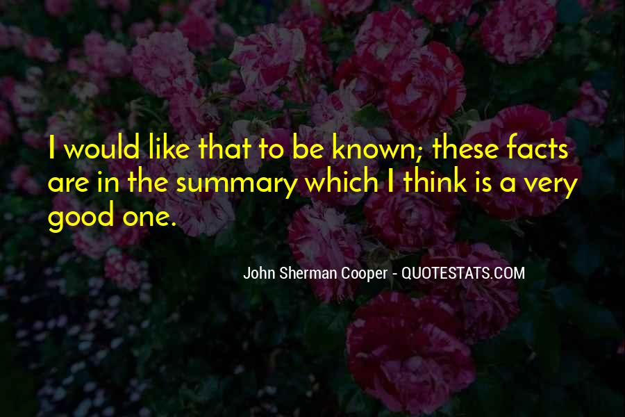Quotes About Summary #230119