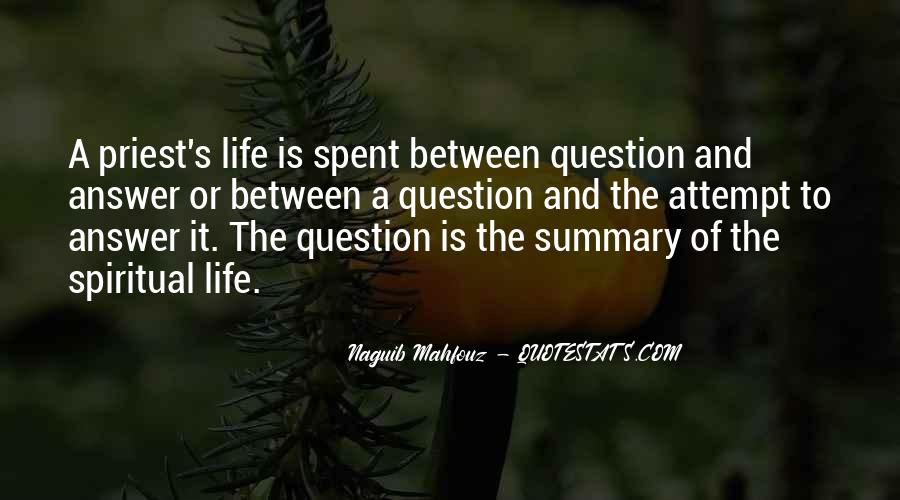 Quotes About Summary #309218