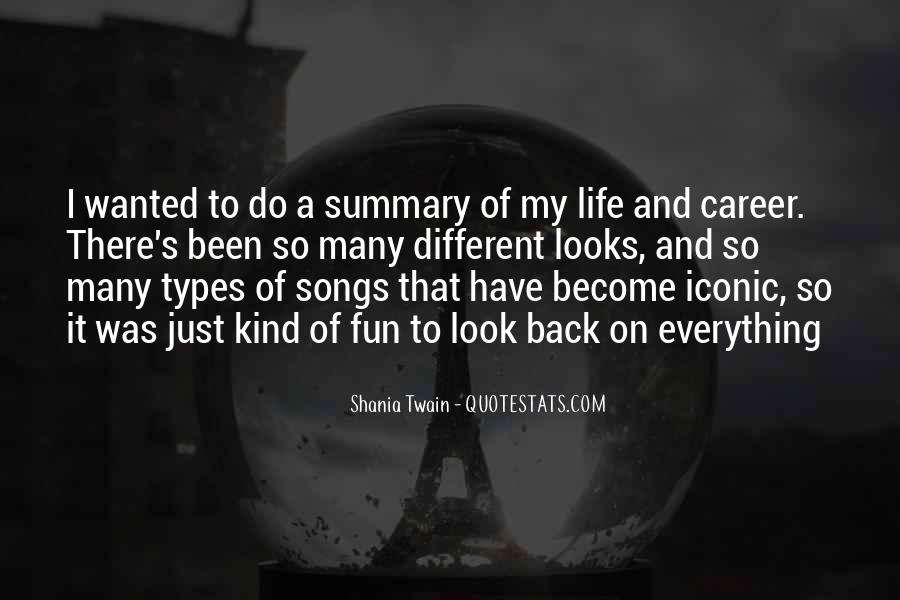 Quotes About Summary #616596