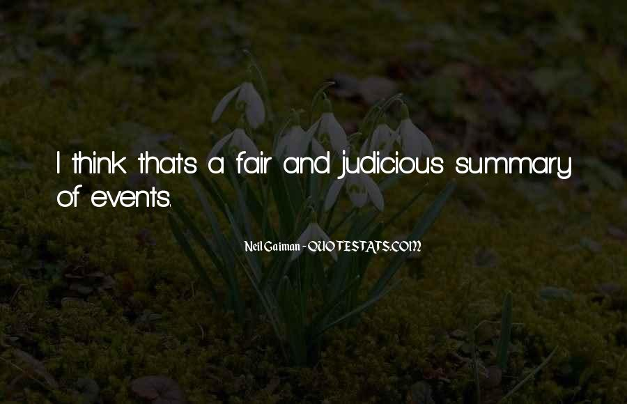 Quotes About Summary #619748
