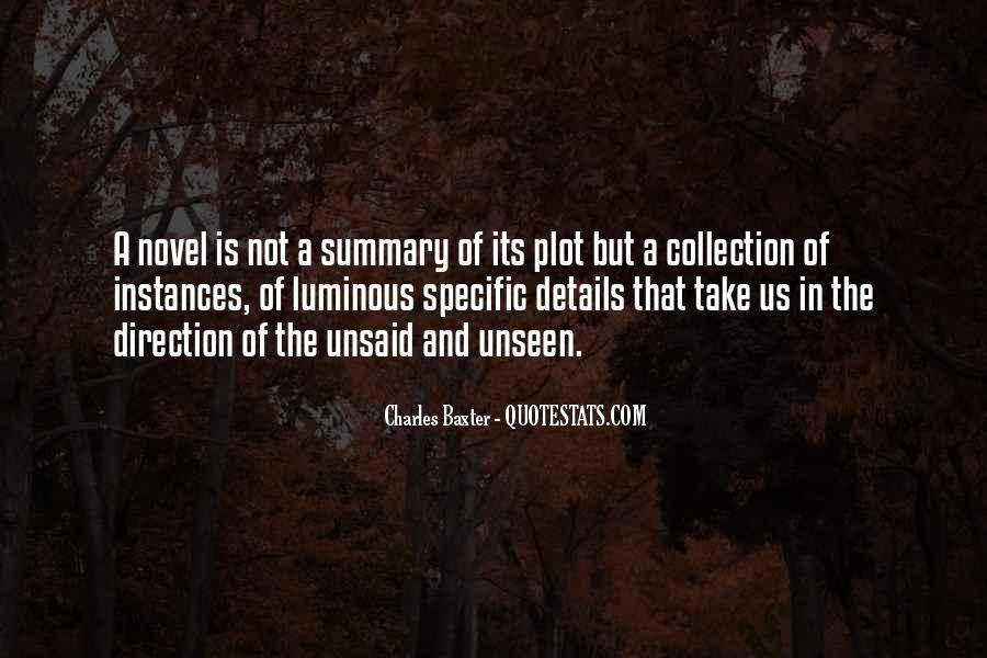 Quotes About Summary #730922