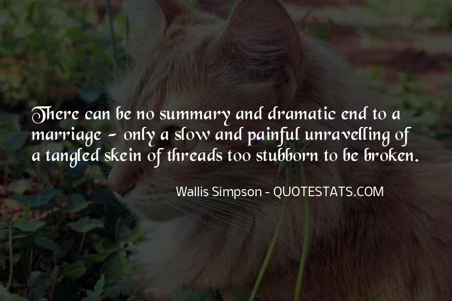 Quotes About Summary #84950