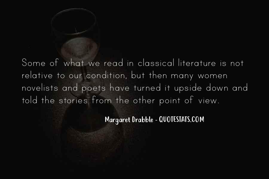 Quotes About Classical Literature #493518