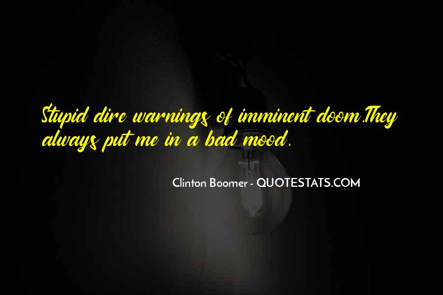 Quotes About Warnings #1048744