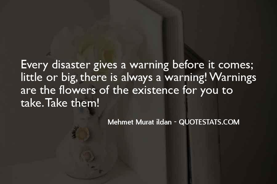 Quotes About Warnings #105725