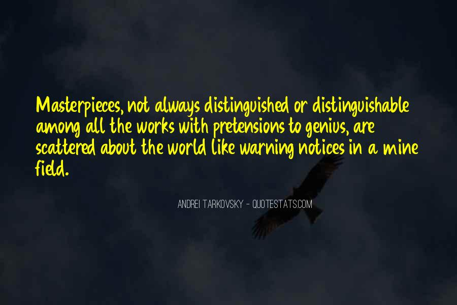 Quotes About Warnings #1071584