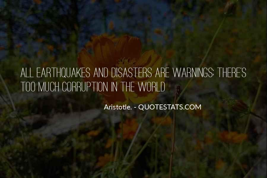 Quotes About Warnings #1088651