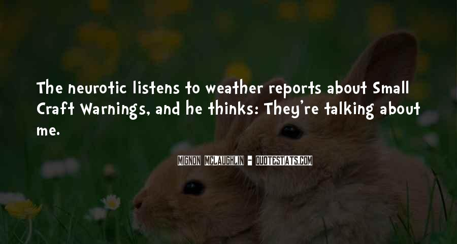 Quotes About Warnings #233995