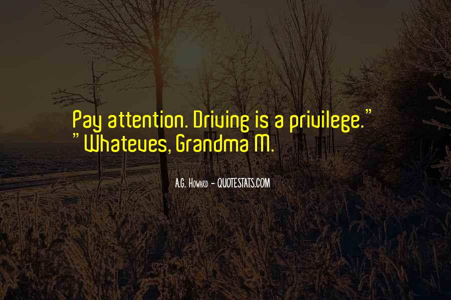 Quotes About Warnings #251298