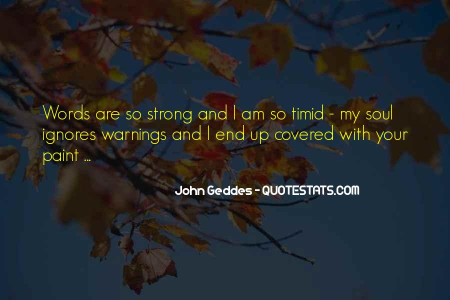 Quotes About Warnings #270556