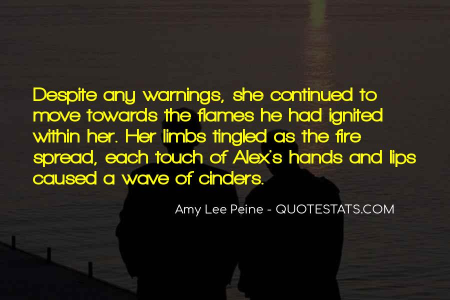 Quotes About Warnings #344640