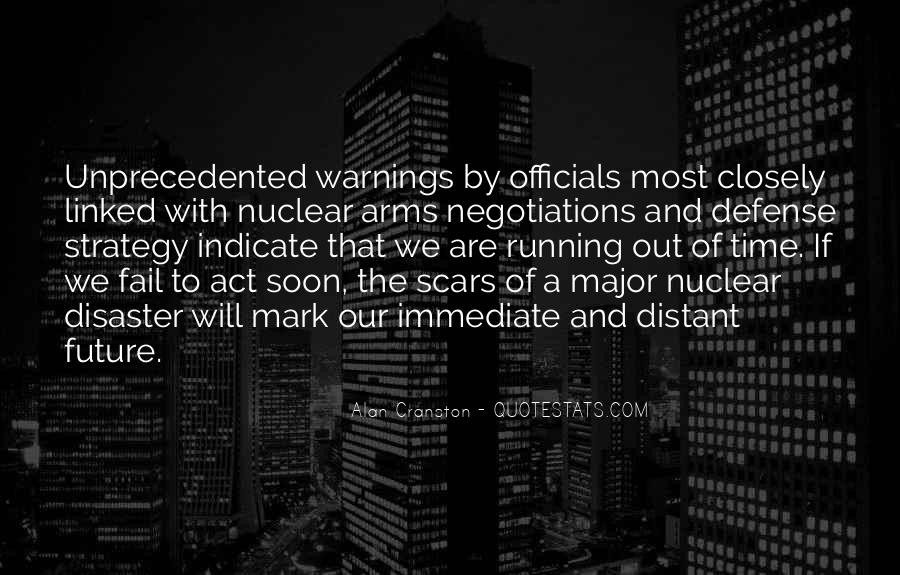 Quotes About Warnings #380513