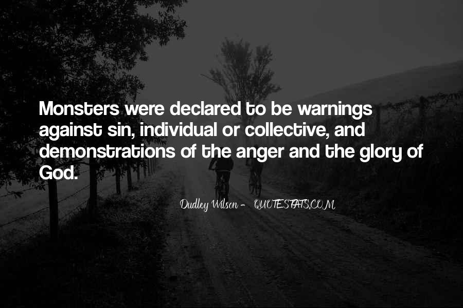 Quotes About Warnings #414459