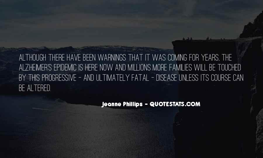 Quotes About Warnings #43159