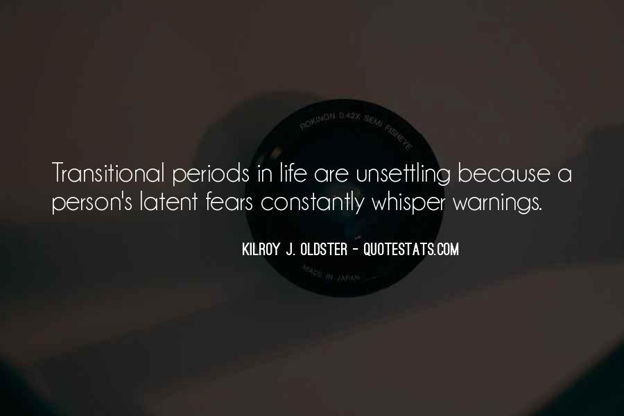 Quotes About Warnings #435405
