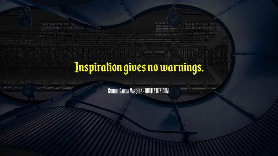 Quotes About Warnings #651252