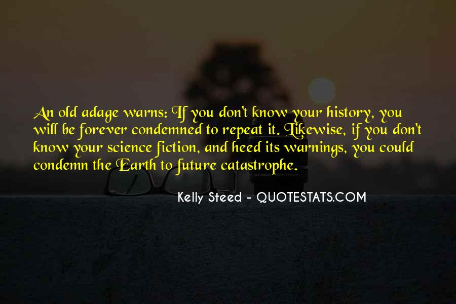 Quotes About Warnings #787042