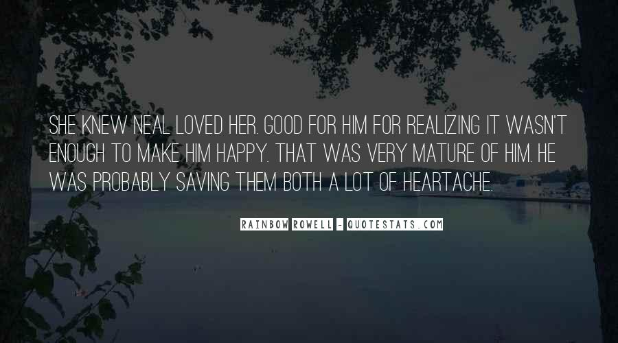 Quotes About Realizing You're In Love #1174941