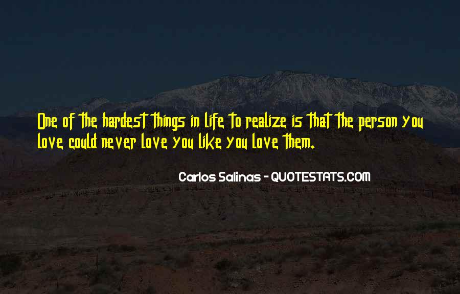 Quotes About Realizing You're In Love #1437200