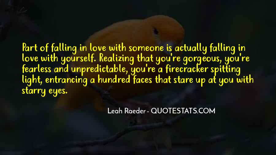 Quotes About Realizing You're In Love #5404