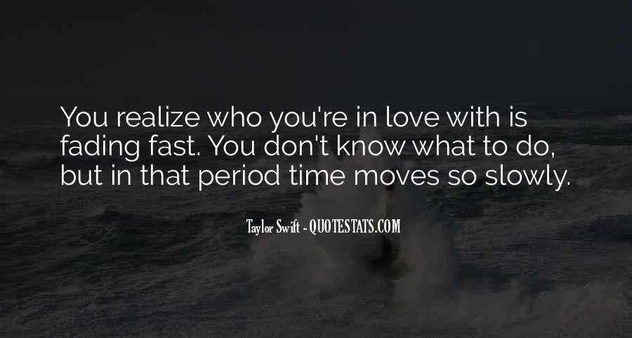 Quotes About Realizing You're In Love #692955