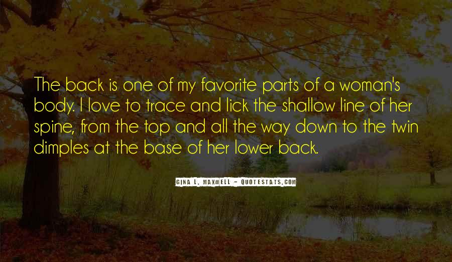 Quotes About Back Dimples #467782