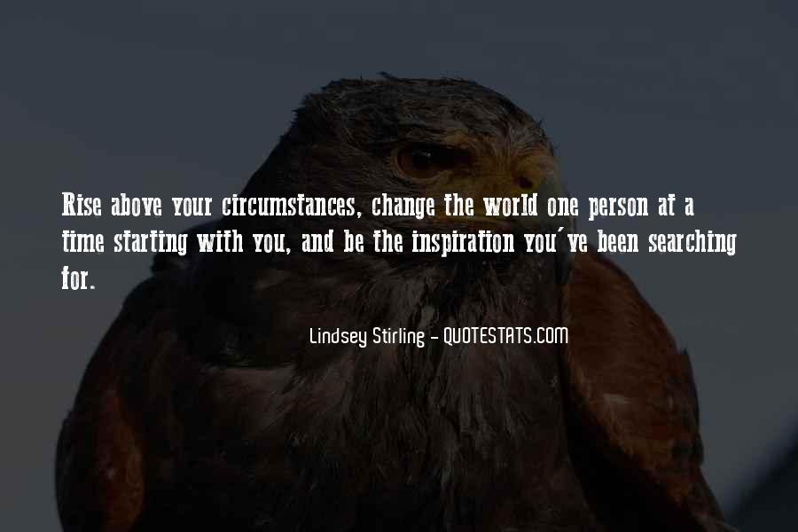 Quotes About A Time For Change #110982